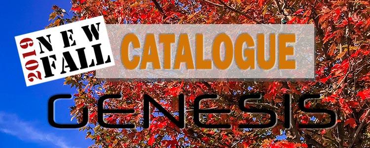 FAll 2019 Genesis Catalogue